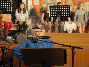 Uli Führe bei einem seiner Auftritte